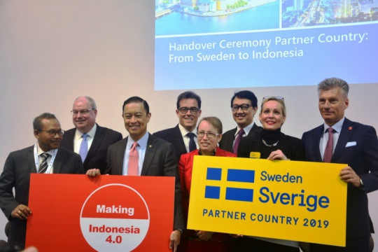 Indonesia Pamer Making Indonesia 4.0 di Hannover Messe 2020