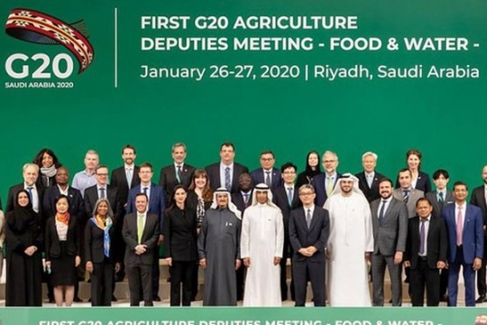G20 Agriculture Deputies Meeting (ADM) Ke-1, 26 - 28 Januari 2020 di Riyadh, Arab Saudi