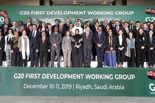 Pertemuan G20 Development Working Group (DWG) Ke-1, 10 -11 Desember 2019 di Riyadh, Arab Saudi