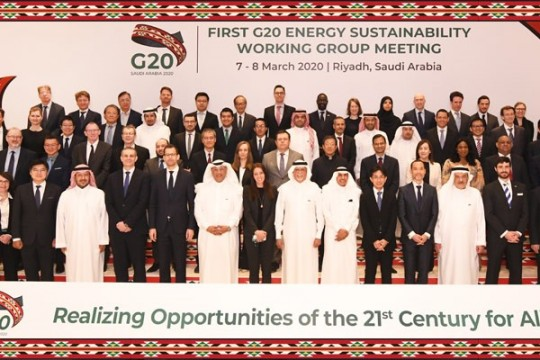 The First G20 Energy Sustainability Working Group Meeting 2020, 7-8 Maret 2020
