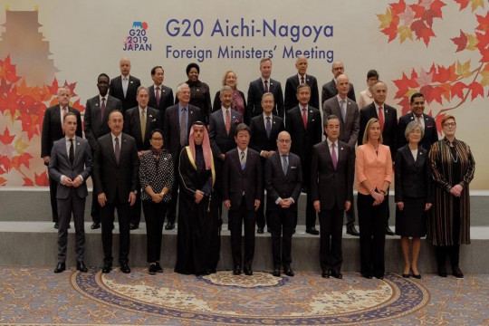 Indonesian and Japanese Foreign Ministers Discuss Bilateral Cooperation in the G20