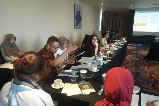 Rapat Konsolidasi Persiapan Pertemuan Ke-2 G20 Development Working Group